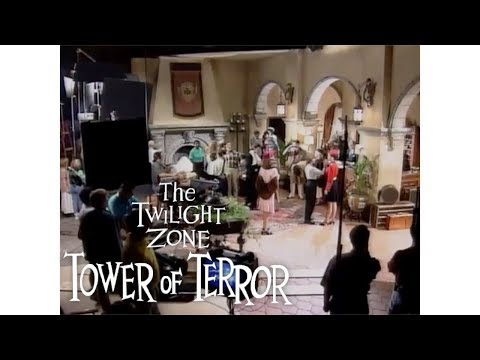 The Theme Park Podcast - Footage Of The Making Of The Twilight Zone Tower Of Terror