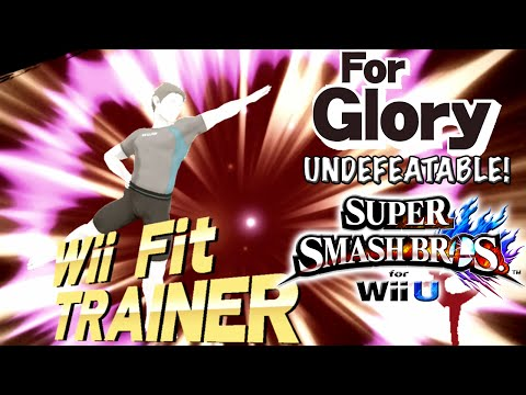 Too Tall | Undefeatable! ~ Wii Fit Trainer Ep. 6 - Super Smash Bros for Wii U (For Glory)