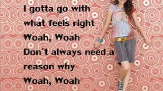 "Selena Gomez - ""Intuition"" With Lyrics On Screen (FULL SONG)"