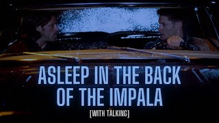 Supernatural Ambience/ASMR – Sleeping in the Back of the Impala (rain & talking)