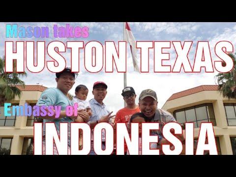 EMBASSY OF INDONESIA yang ada di HUSTON TEXAS