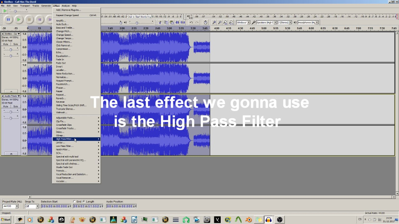 THE MAGIC OF AUDACITY - How to fix muffled/poor quality audio