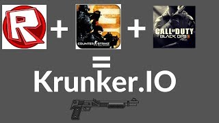 If Roblox , Call of Duty and CSGO made a game (Krunker.io)
