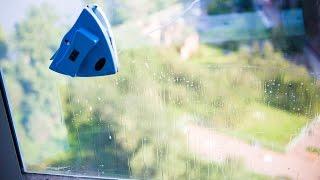 Магнитная щетка для мытья окон(Мою окна магнитной щеткой., 2016-08-21T20:02:13.000Z)