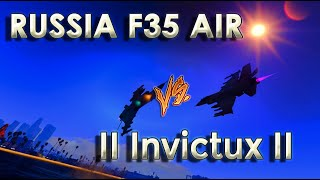 dogfight russia f35 air vs ii invictux ii a3ro