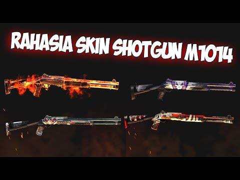WAJIB TONTON!!! RAHASIA TERSEMBUNYI SKIN SHOTGUN M1014 - Free Fire Indonesia