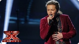 Luke Friend sings Something About The Way You Look Tonight - Live Week 9 - The X Factor 2013
