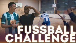 FUSSBALL CHALLENGE gegen Cubanito + BESTRAFUNG
