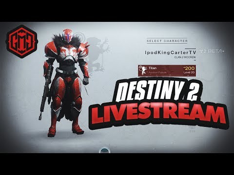 Destiny 2 Beta Live Stream: RUNNING CRUCIBLE WITH GMG! + How To Get Free Beta Codes