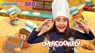 Cocinando a toda velocidad en Overcooked. EN VIVO