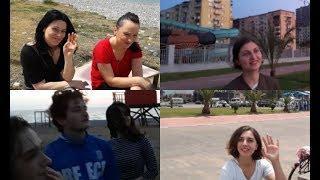 Что думают грузинские девушки о Казахстане