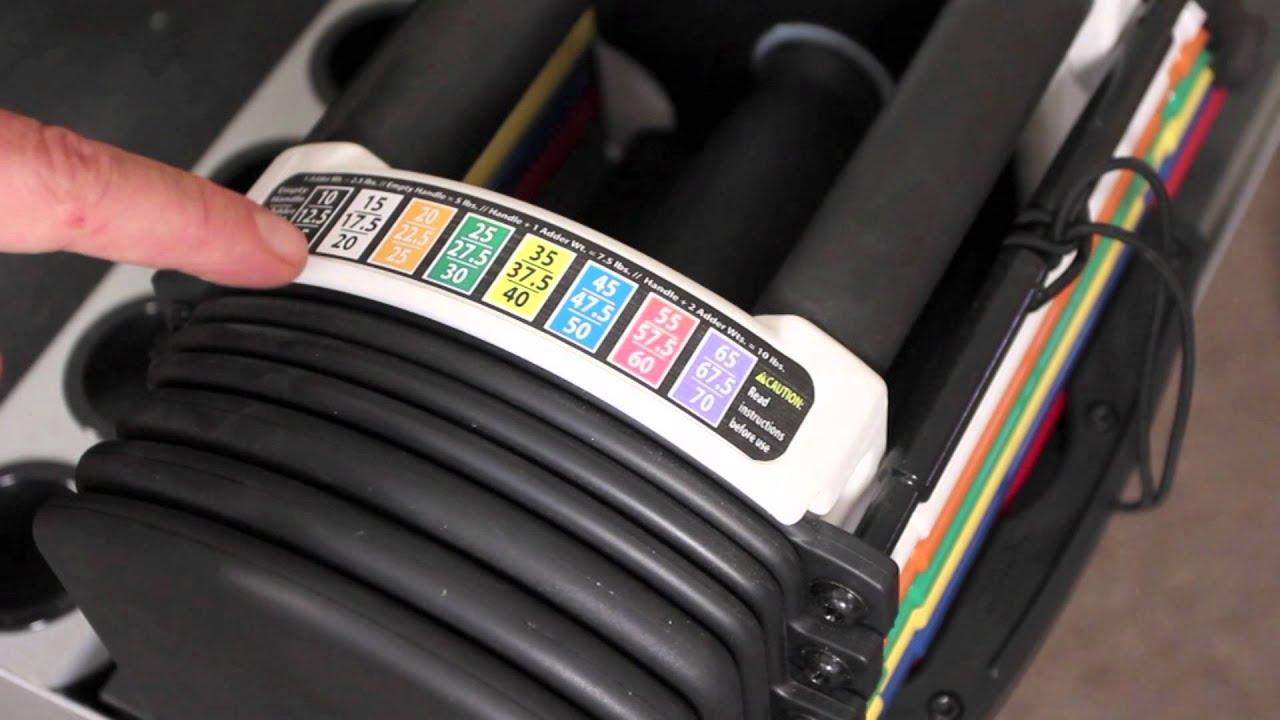 Powerblock classic adjustable dumbbell set reviews - Powerblock U70 Set