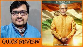 PM Narendra Modi - Quick Movie Review