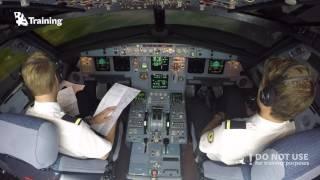 Transatlantic attempt in Airbus A320 (part 2) - BAA Training