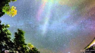 La pluie d'étoiles filantes des Geminides 2014