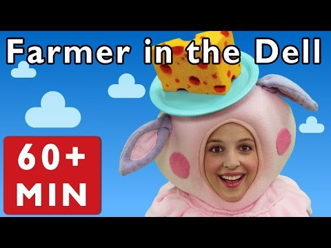 Farmer in the Dell and More | Nursery Rhymes from Mother Goose Club!