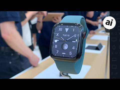 Apple Watch Series 5 Hands On