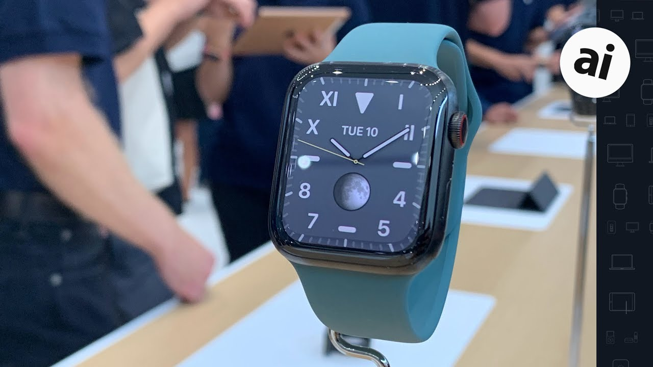 Apple Watch Series 5 hands-on