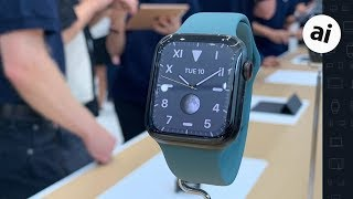 Apple Watch Series 5 -- Hands On! Video