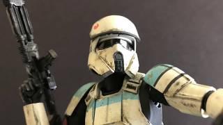 Building the Bandai Shoretrooper Model kit