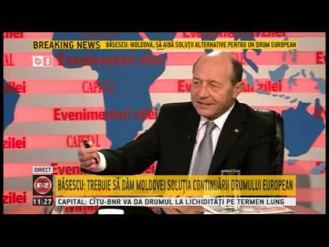 Traian Basescu, la Evenimentul Zilei (B1 TV), 6 ianuarie 2014 -- Emisiune completa