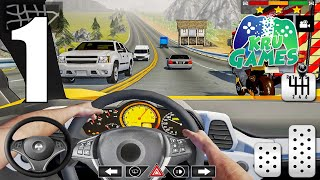 Car Driving School 2020: Real Driving Academy Test Gameplay Walkthrough #1 (Android, IOS) screenshot 1