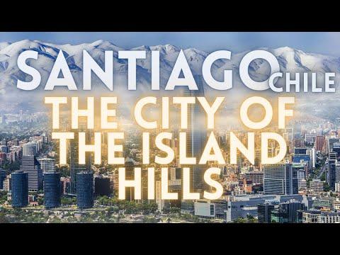 Santiago Chile Travel Tour 4K