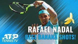 Top 15 Rafael Nadal Banana Forehands! 🍌