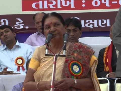 Speech - CM inaugurates Nursing School-Hostel at Thaltej, Ahmedabad