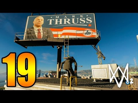 Watch Dogs 2 (19) Ada Donald Trump KW! XD