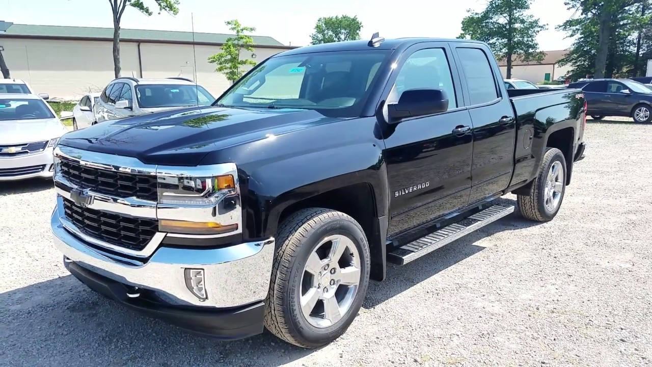 2017 Chevy Silverado 1500 Lt All Star Edition Double Cab Jet Black