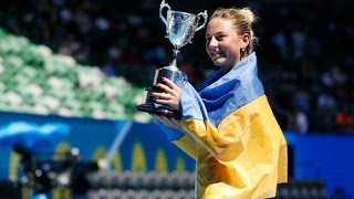 Украинка выиграла Australian Open 2017.  / The Ukrainian won the Australian Open in 2017