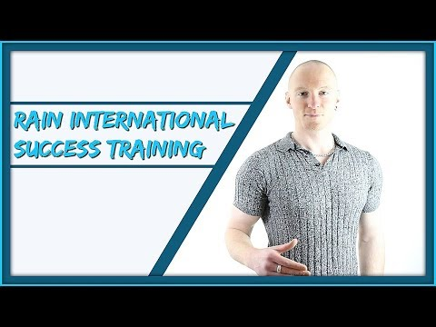 Rain International Training – How To Explode Your Rain International Business