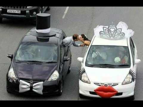 Como adornar un auto en el d a de tu boda youtube - Decoracion coche novia ...