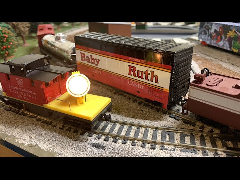 Chug Chug Choo Choo – Vintage Tyco Toy Train Light & Sound Accessories