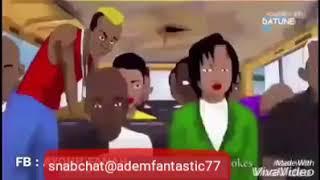 Komisch af somali-cartoon
