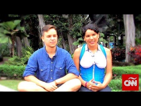 Fernando Machado esta embarazado de su novia transexual Diane Rodriguez - Man pregnancy CNN