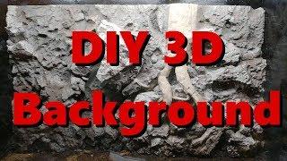 Comment construire un 3D aquarium de fond (à partir de zéro)