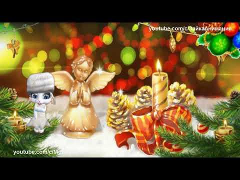 ZOOBE зайка Замечательное Поздравление с Рождеством - Прикольное видео онлайн