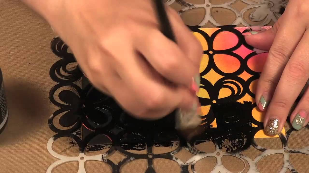 Scrap Time - Ep. 778 - Crafter\'s Workshop Templates and Black Gesso ...