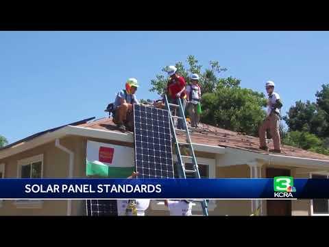 Regulator OKs solar panel mandate for new California homes