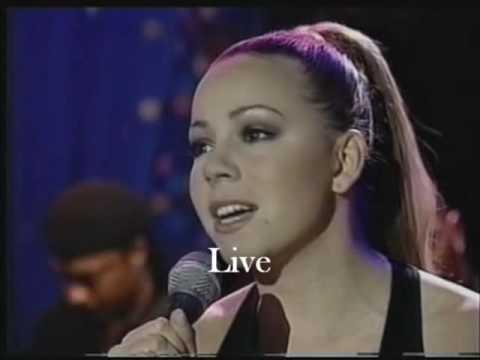 Mariah Carey - Lipsync Vs. Live: I Still Believe