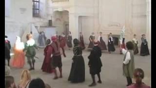 MLŠSH Valtice 2010 | Historical Dance Class | Part 4 - Battaglia Toscana