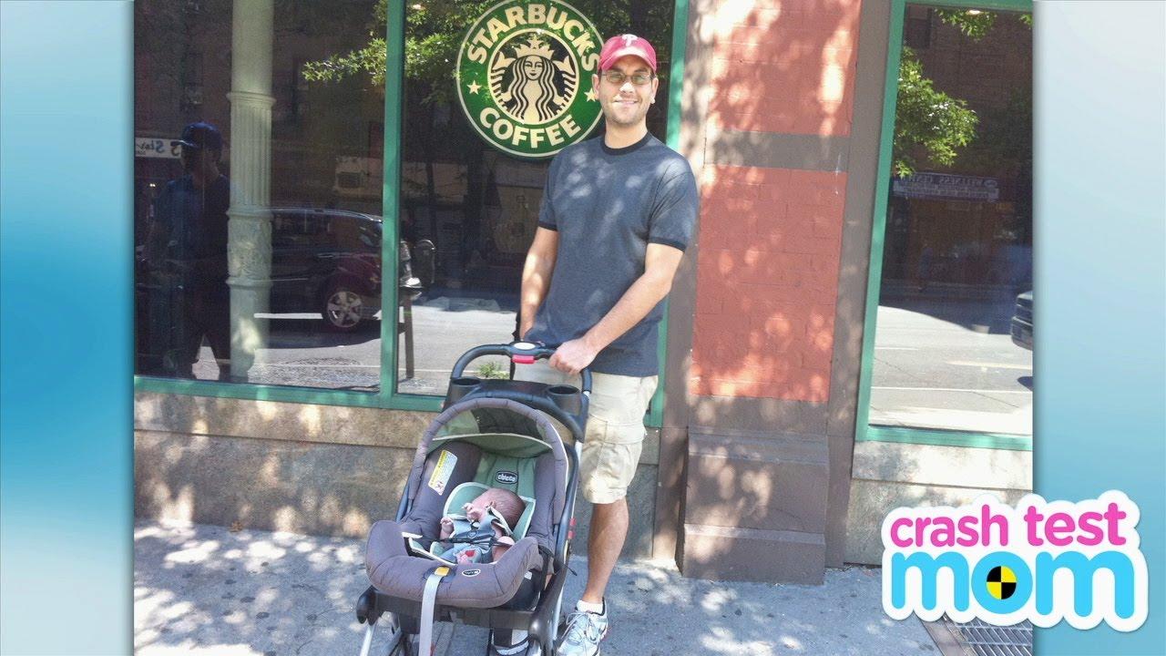 Baby Trend Snap-N-Go Stroller - Crash Test Mom Reviews - YouTube