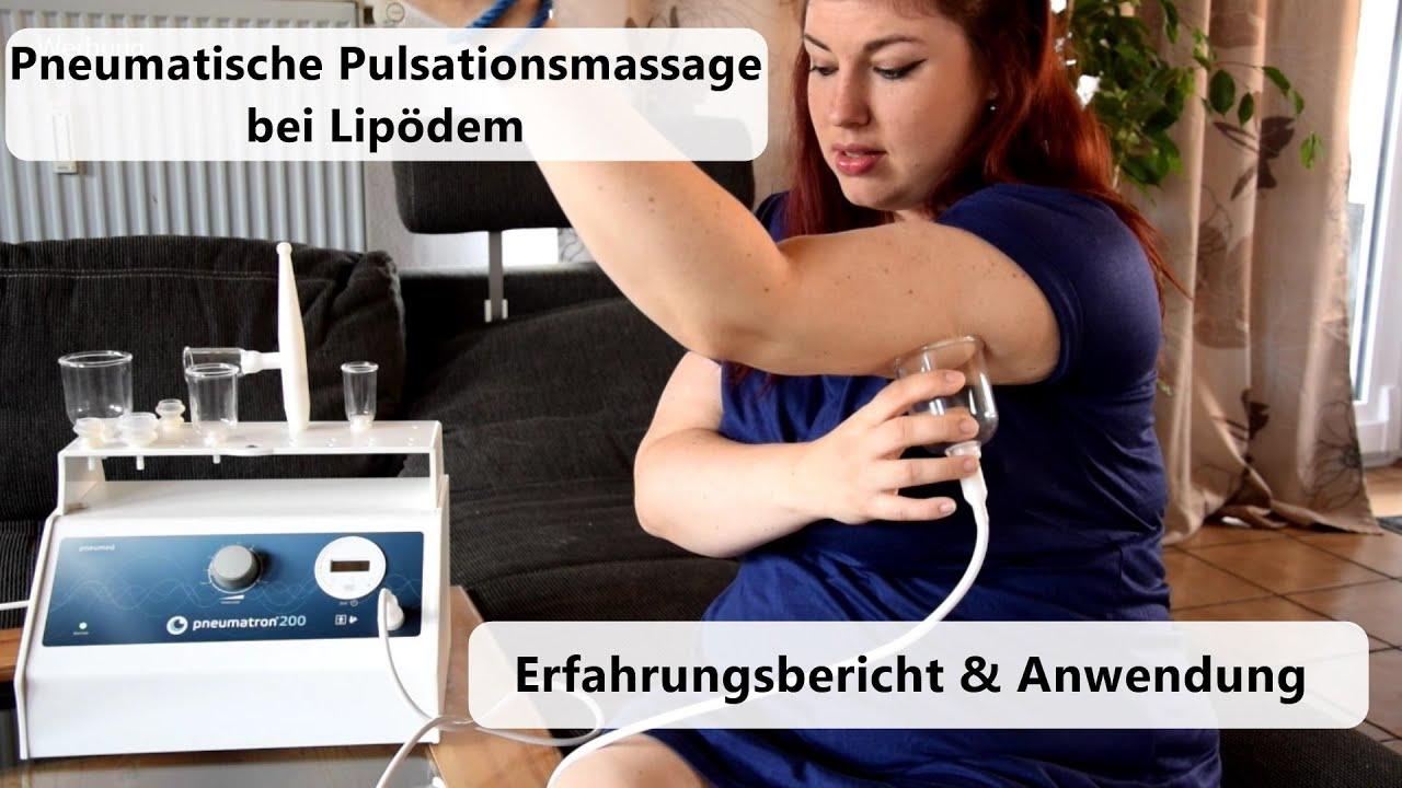 Pneumatische Pulsationsmassage bei Lip- und Lymphödem