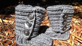 Вяжем Угги/Uggs для девочки. How to knit CARDY UGGs