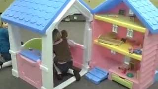 Little Tikes 2 In 1 Dollhouse Playhouse