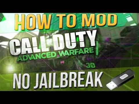 Advanced Warfare USB Mod Tutorial - No Jailbreak