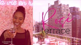 The Best Rosé Party in NYC | Rosé Terrace at Mondrian Park Avenue