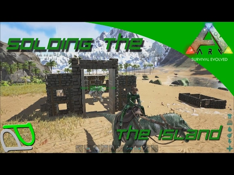 Taming a Baryonyx! Soloing the Ark S2E64